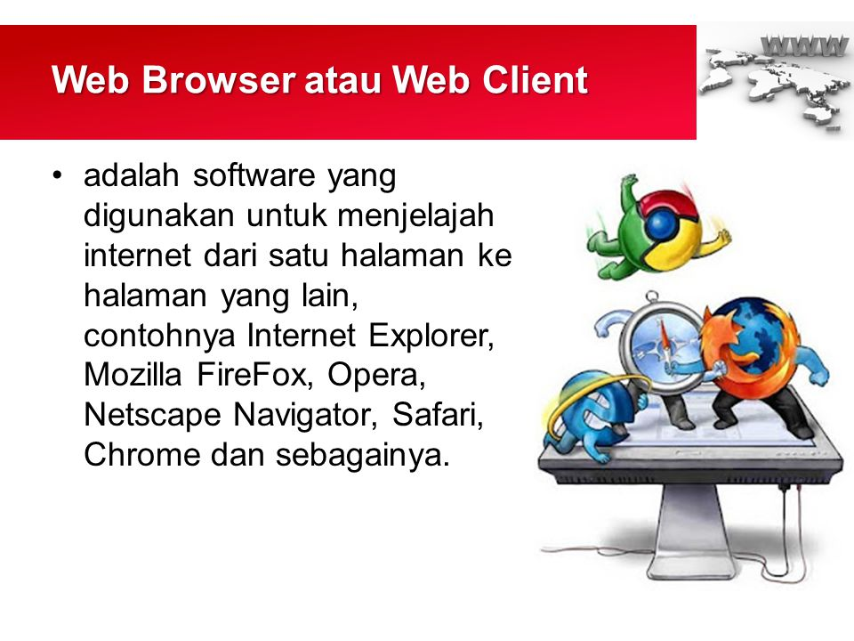 Web Browser atau Web Client