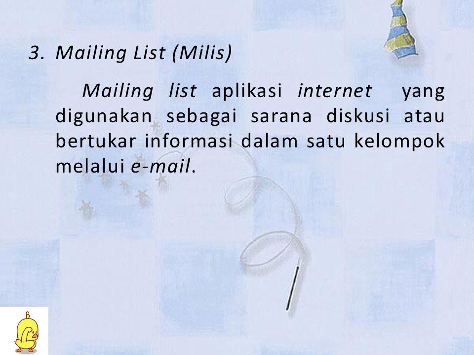 Mailing List (Milis)
