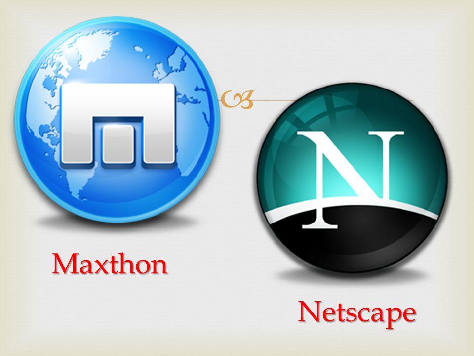 Maxthon Netscape