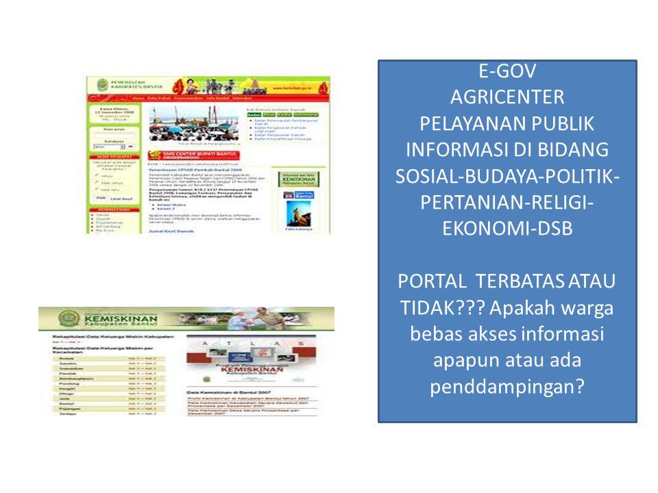 INFORMASI DI BIDANG SOSIAL-BUDAYA-POLITIK-PERTANIAN-RELIGI-EKONOMI-DSB