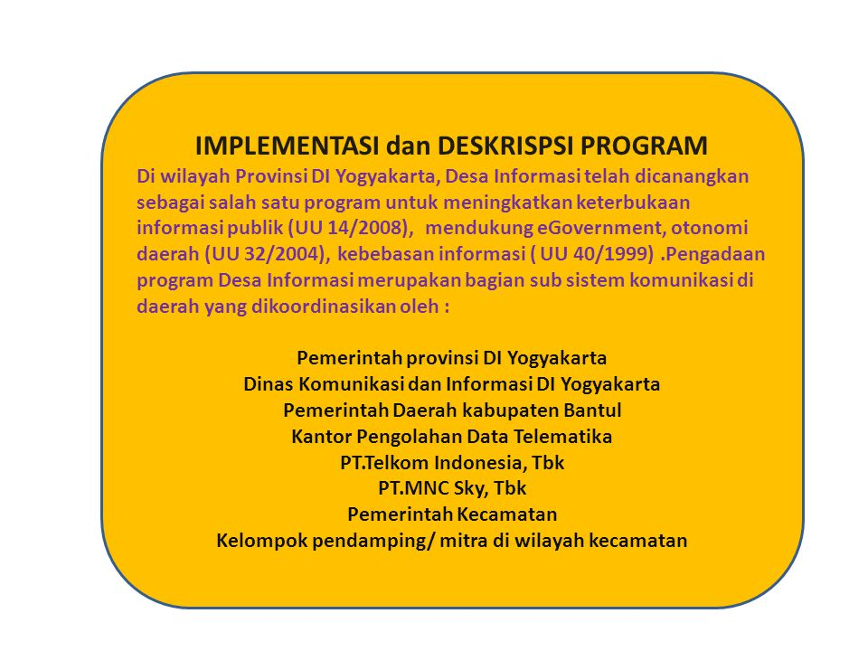 IMPLEMENTASI dan DESKRISPSI PROGRAM
