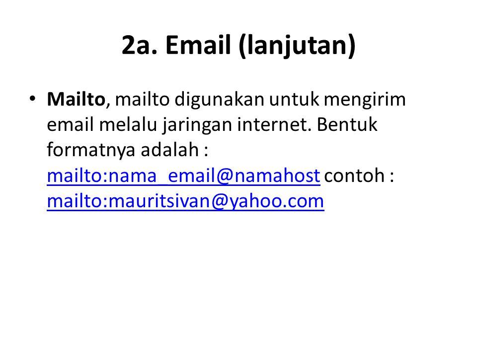 2a. Email (lanjutan)
