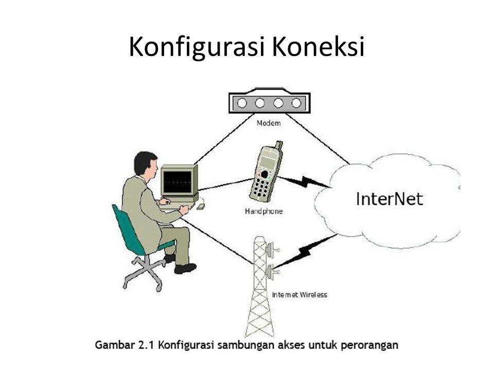 Konfigurasi Koneksi