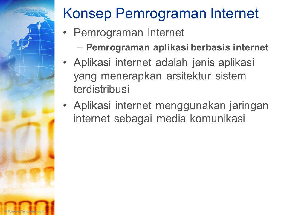 Konsep Pemrograman Internet