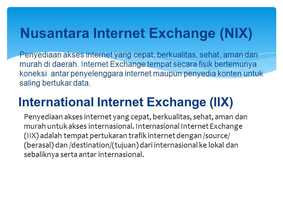 Nusantara Internet Exchange (NIX)