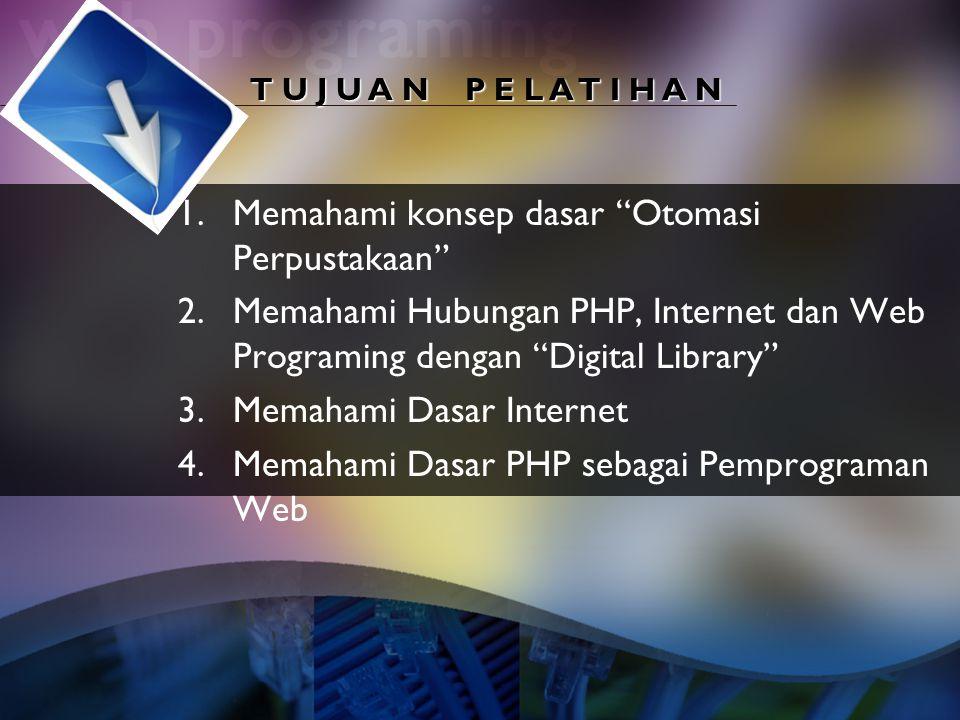 Memahami konsep dasar Otomasi Perpustakaan
