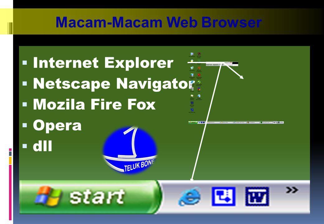 Macam-Macam Web Browser