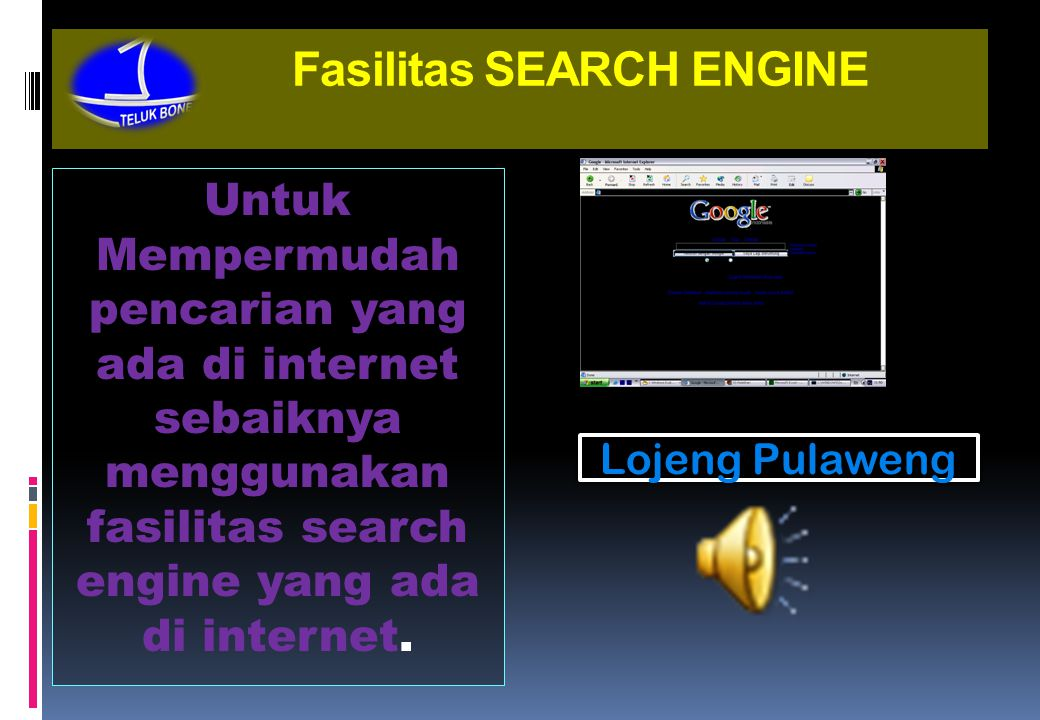 Fasilitas SEARCH ENGINE