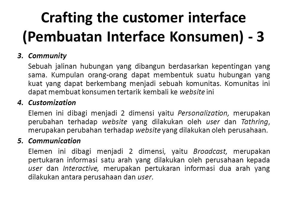 Crafting the customer interface (Pembuatan Interface Konsumen) - 3