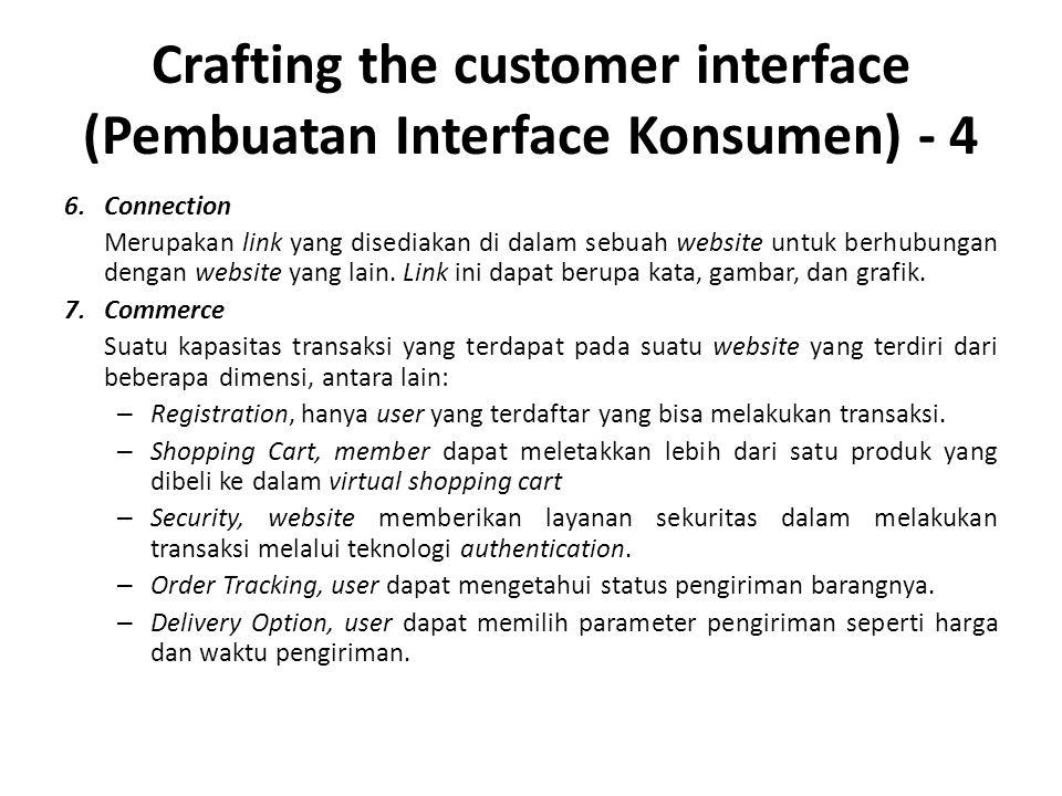 Crafting the customer interface (Pembuatan Interface Konsumen) - 4