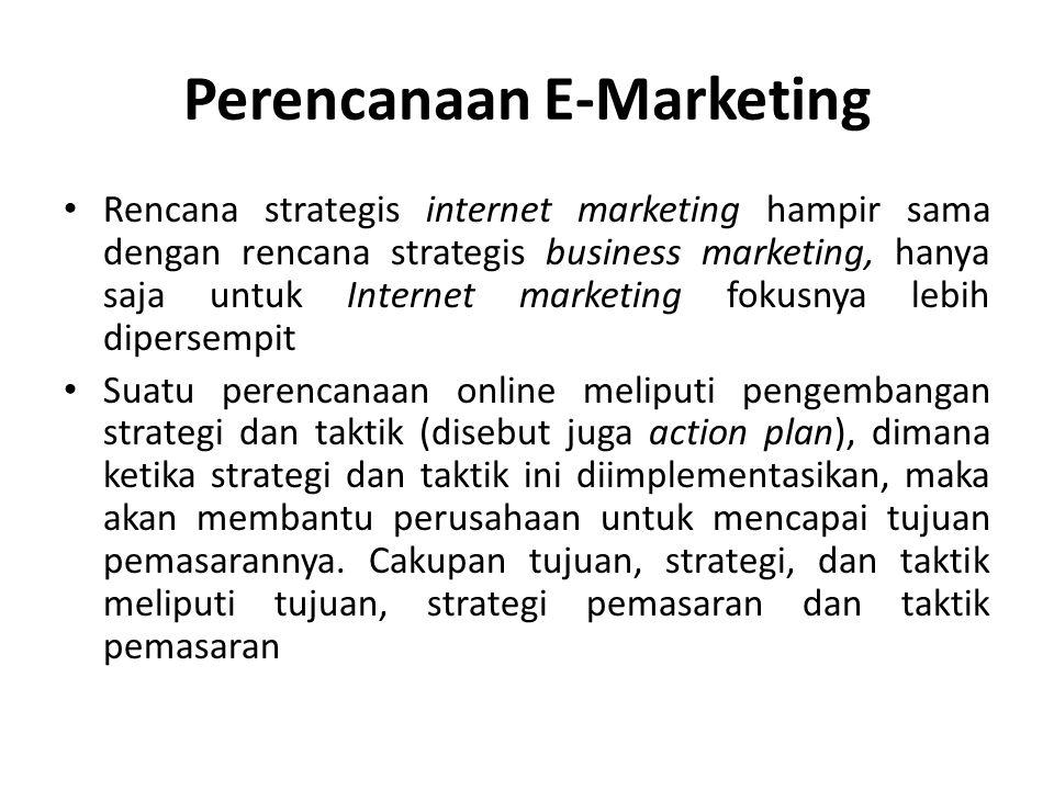 Perencanaan E-Marketing