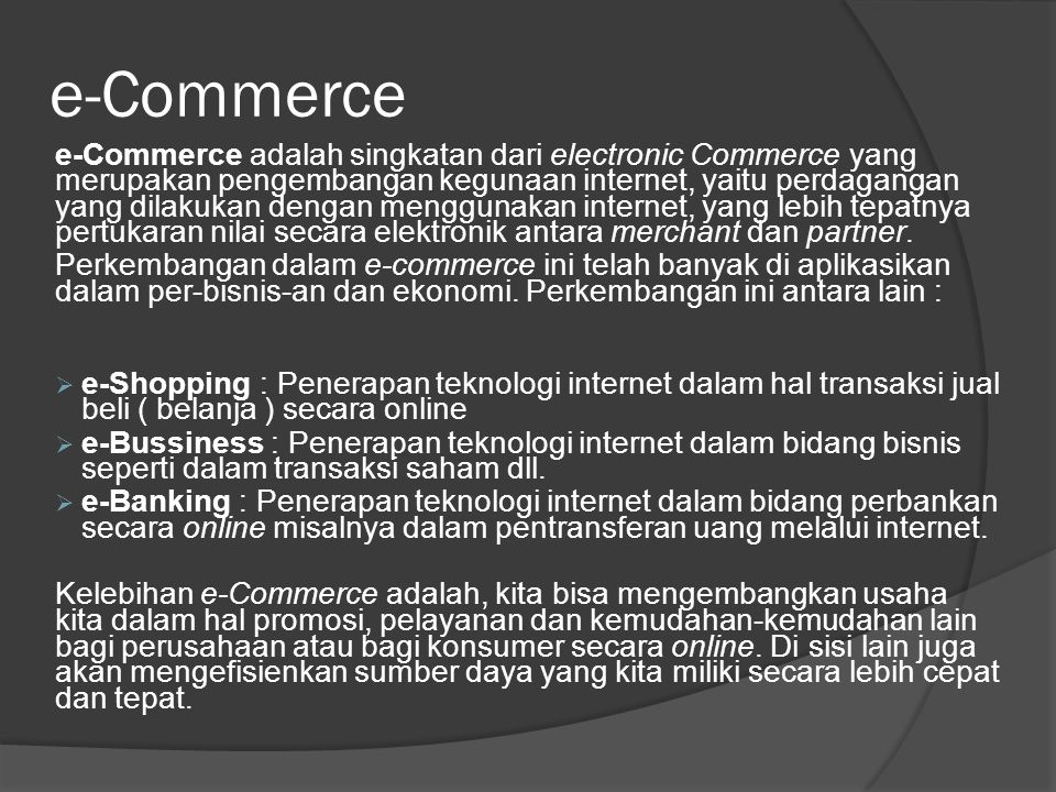 4/3/2017 3:27 PM e-Commerce.