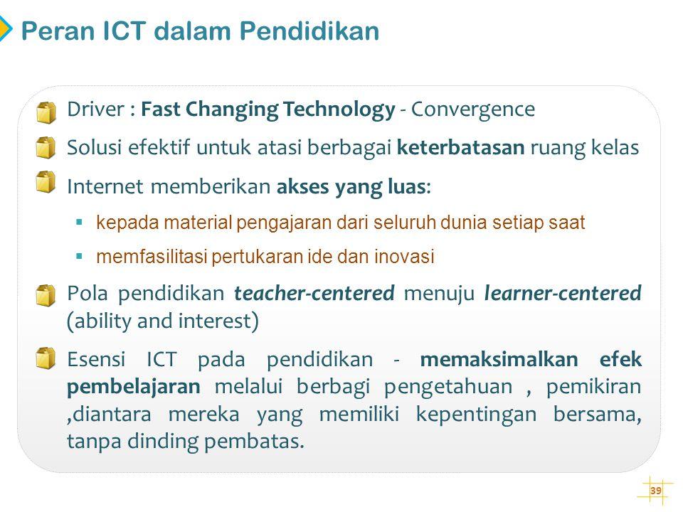 Peran ICT dalam Pendidikan