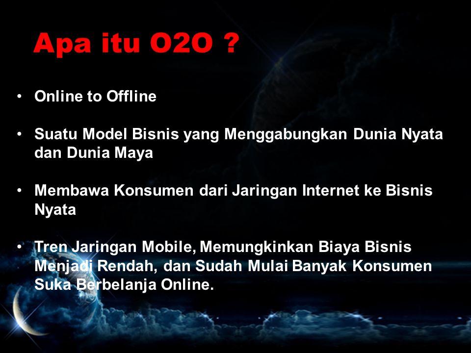 Apa itu O2O Online to Offline