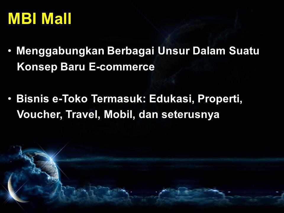 MBI Mall Menggabungkan Berbagai Unsur Dalam Suatu