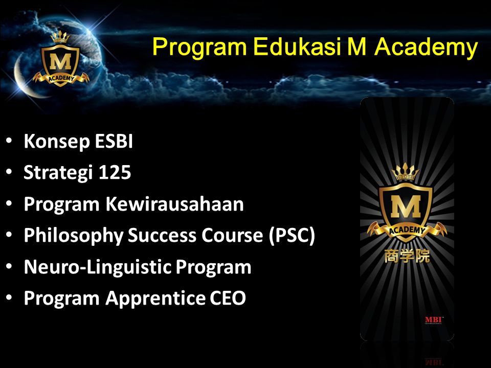 Program Edukasi M Academy