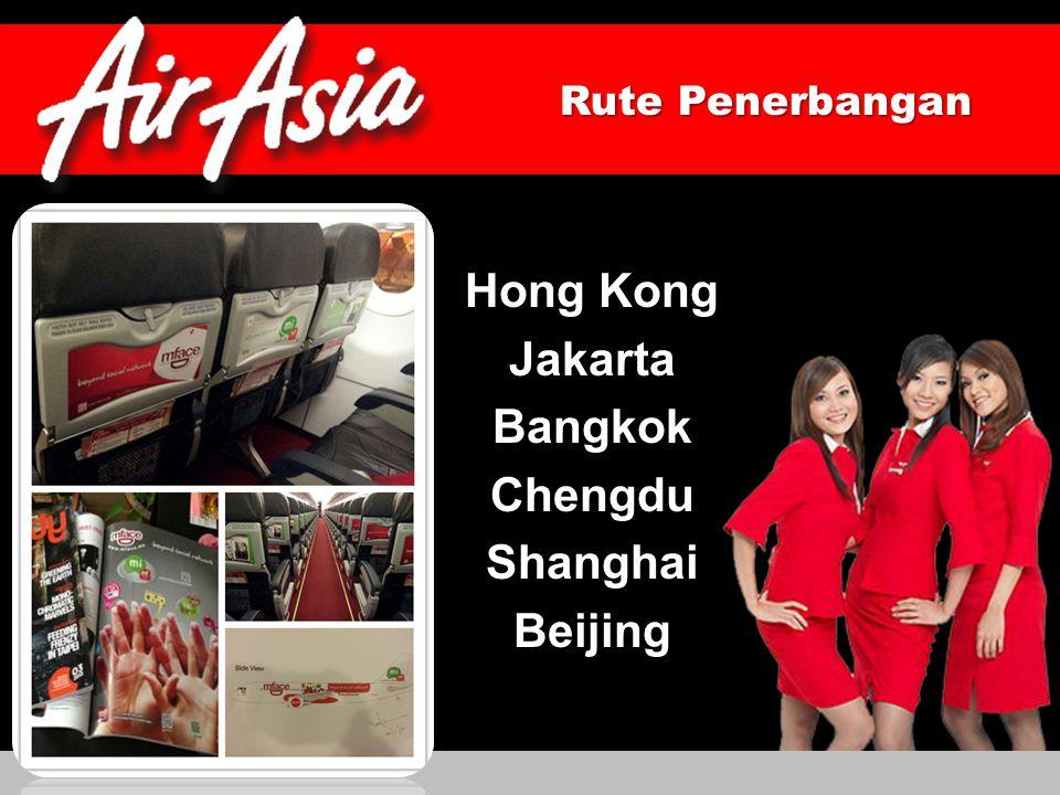 Hong Kong Jakarta Bangkok Chengdu Shanghai Beijing