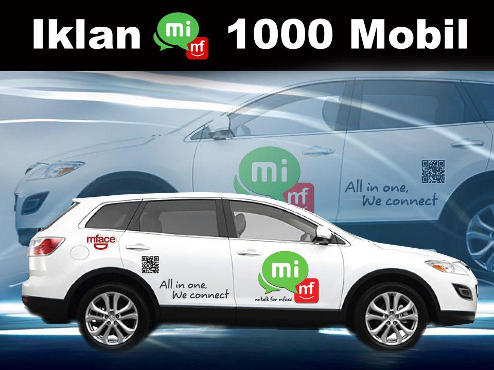 Iklan 1000 Mobil