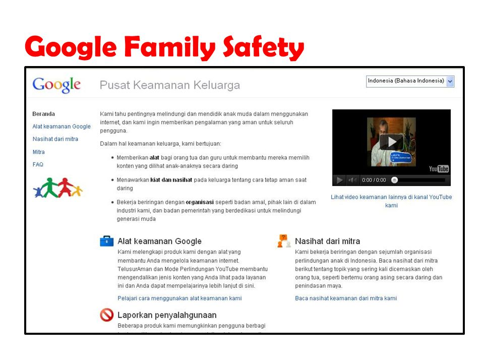 Google Family Safety