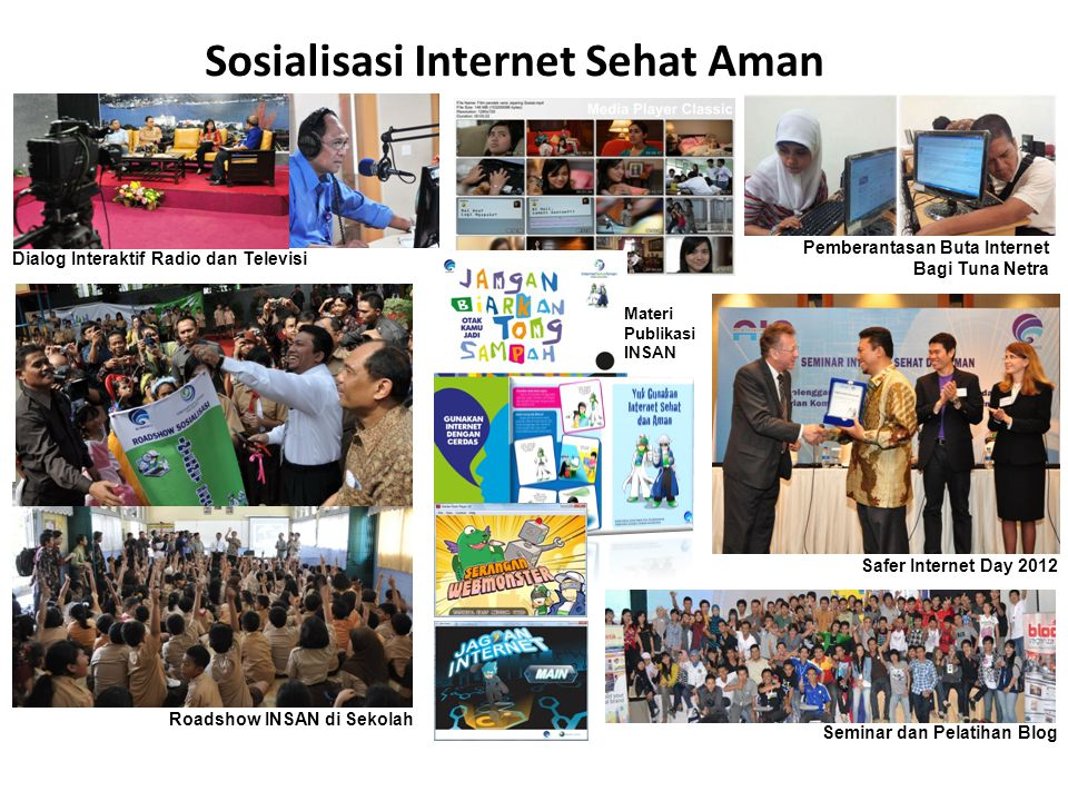 Sosialisasi Internet Sehat Aman