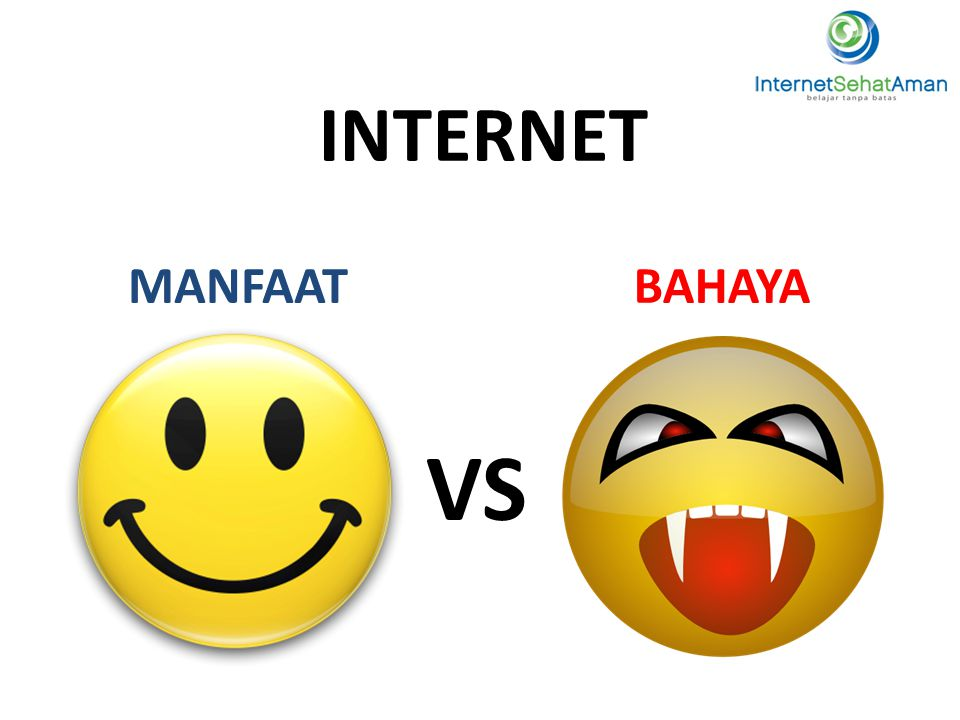 9 INTERNET MANFAAT BAHAYA VS