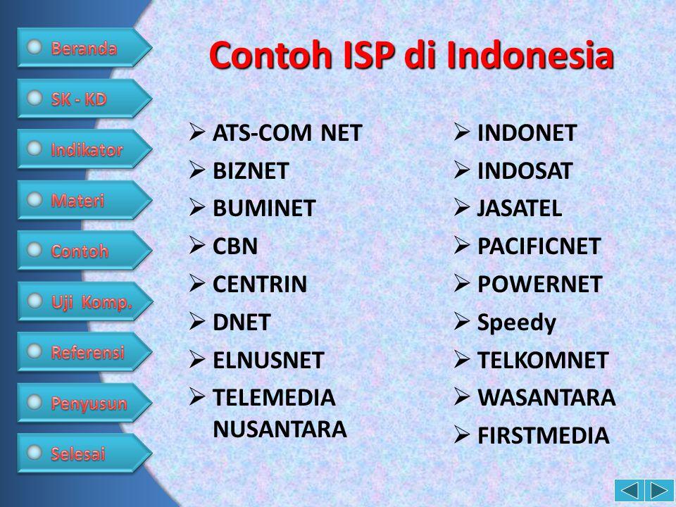 Contoh ISP di Indonesia