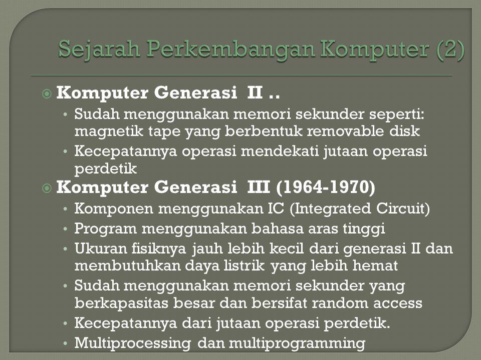 Sejarah Perkembangan Komputer (2)