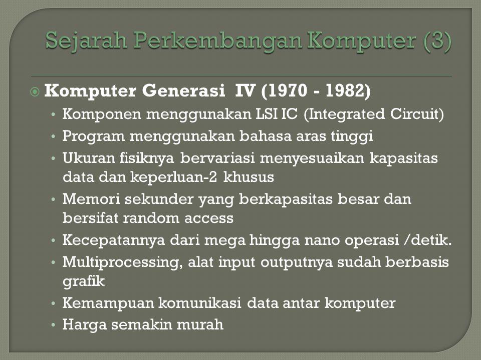 Sejarah Perkembangan Komputer (3)