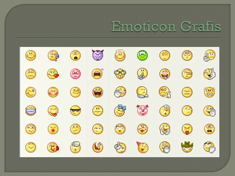 Emoticon Grafis