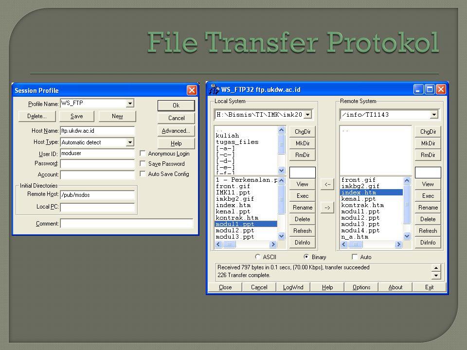 File Transfer Protokol