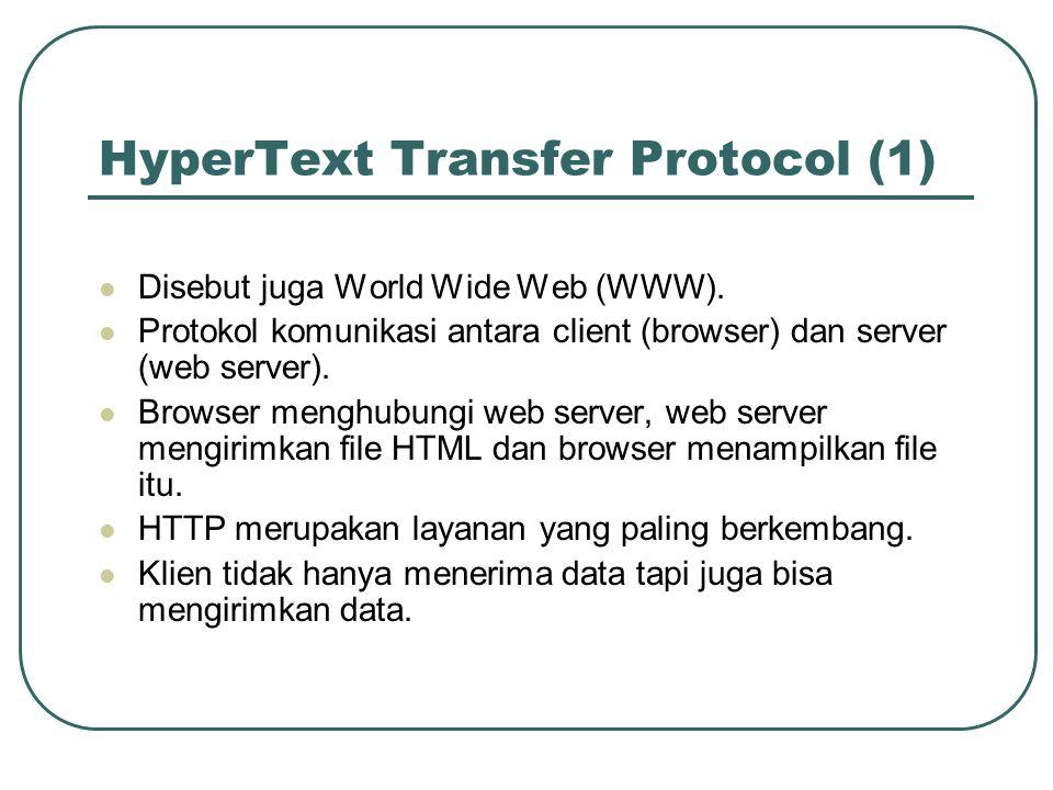HyperText Transfer Protocol (1)