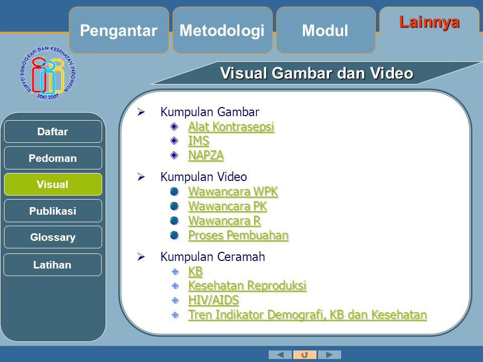 Visual Gambar dan Video