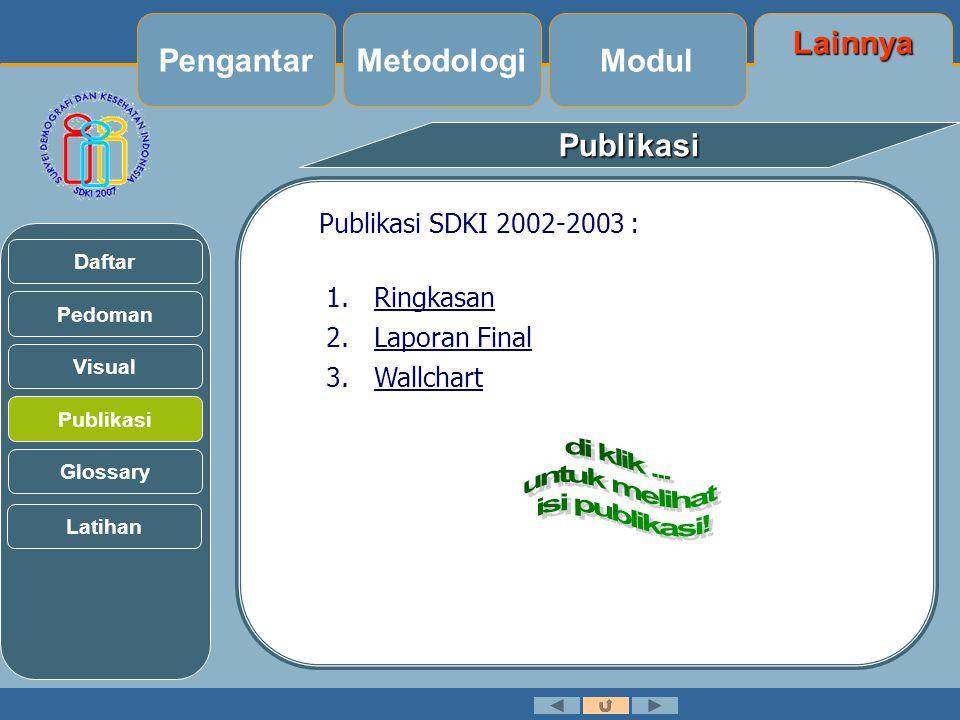 di klik ... untuk melihat isi publikasi!