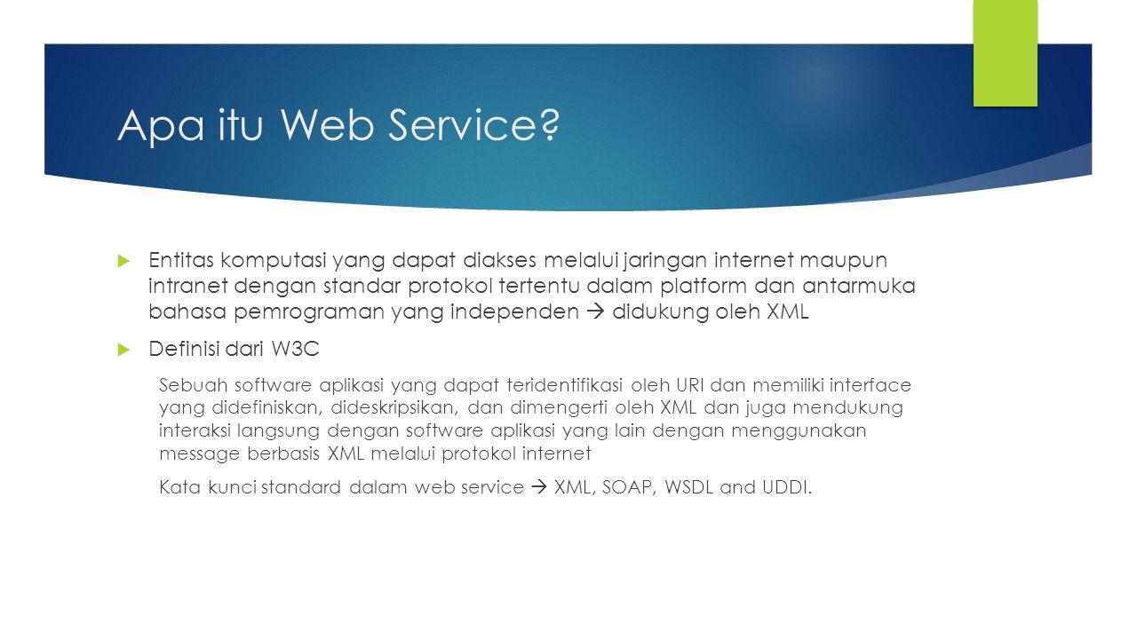 Apa itu Web Service