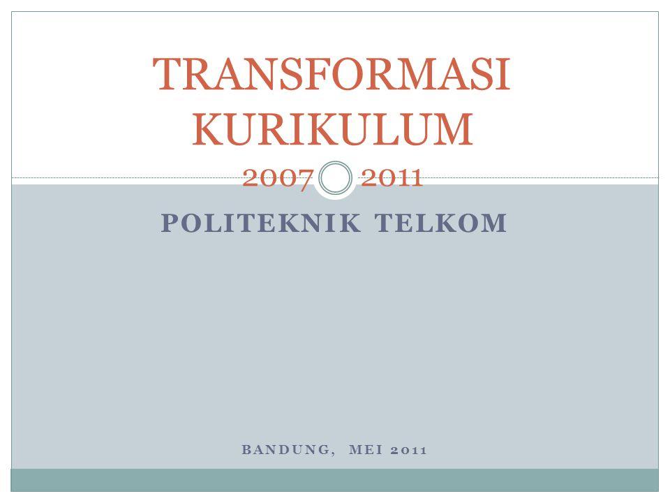 TRANSFORMASI KURIKULUM 2007 2011
