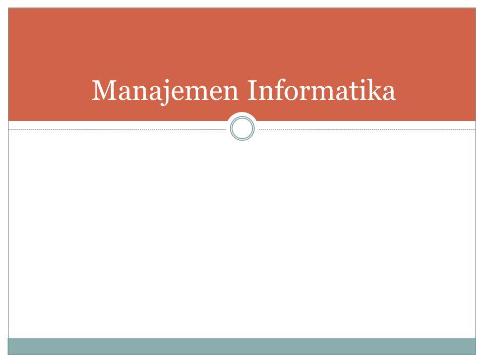 Manajemen Informatika
