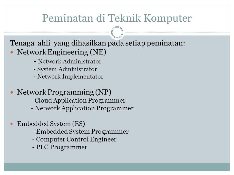 Peminatan di Teknik Komputer