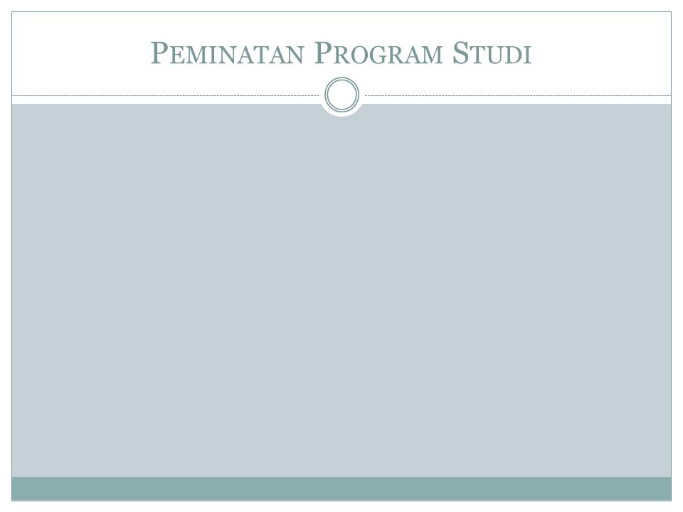 Peminatan Program Studi