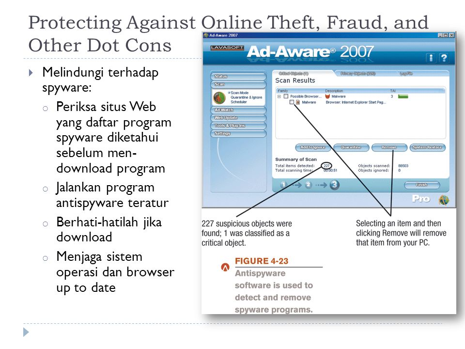 Protecting Against Online Theft, Fraud, and Other Dot Cons