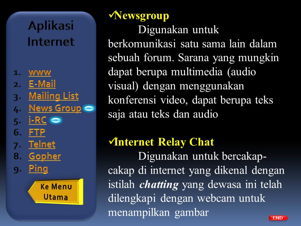 Aplikasi Internet Newsgroup