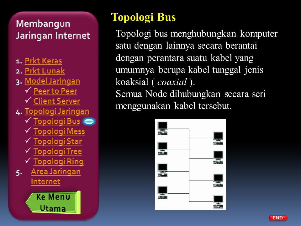 Topologi Bus Membangun Jaringan Internet