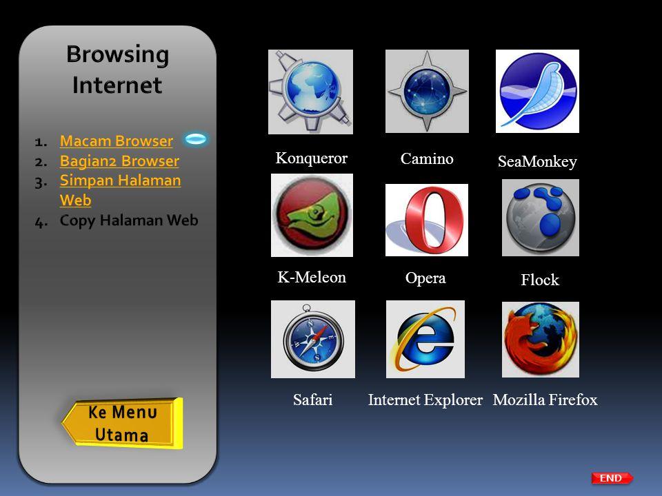 Browsing Internet Ke Menu Utama Macam Browser Bagian2 Browser