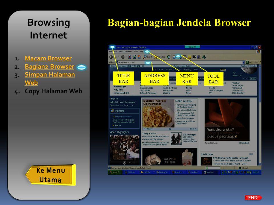 Bagian-bagian Jendela Browser
