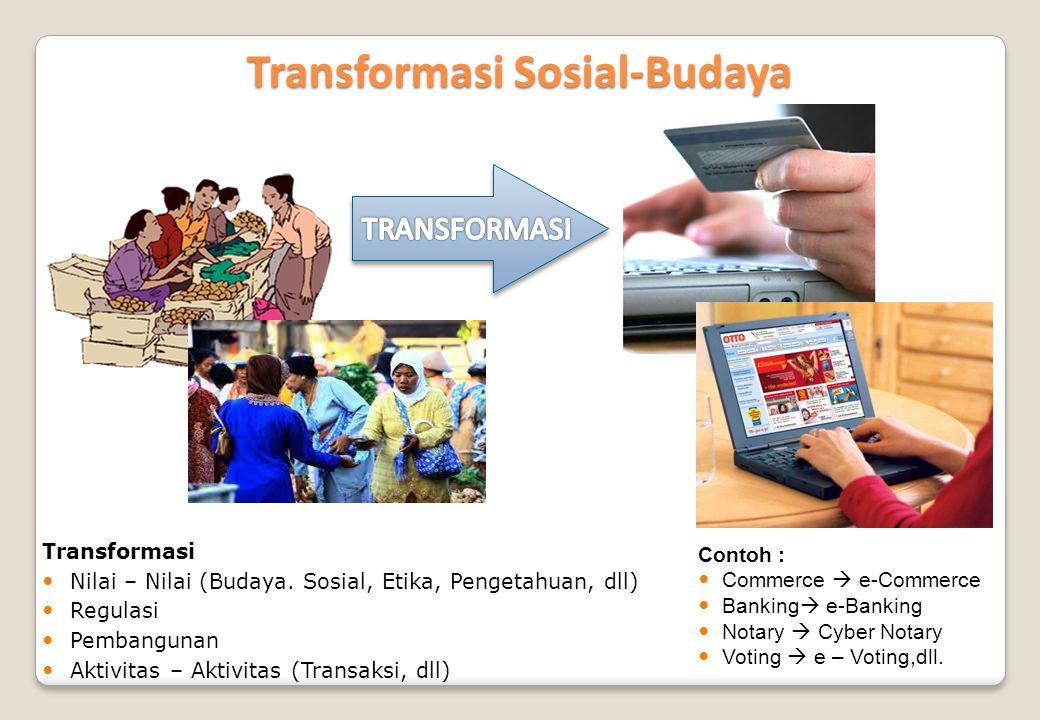 Transformasi Sosial-Budaya