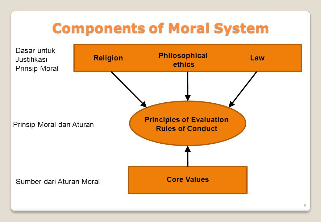 Components of Moral System