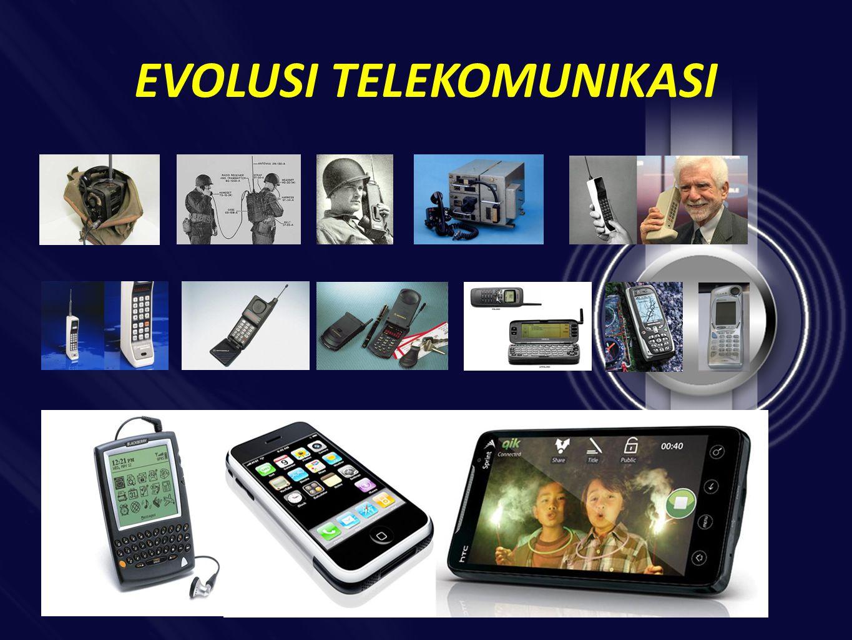 EVOLUSI TELEKOMUNIKASI