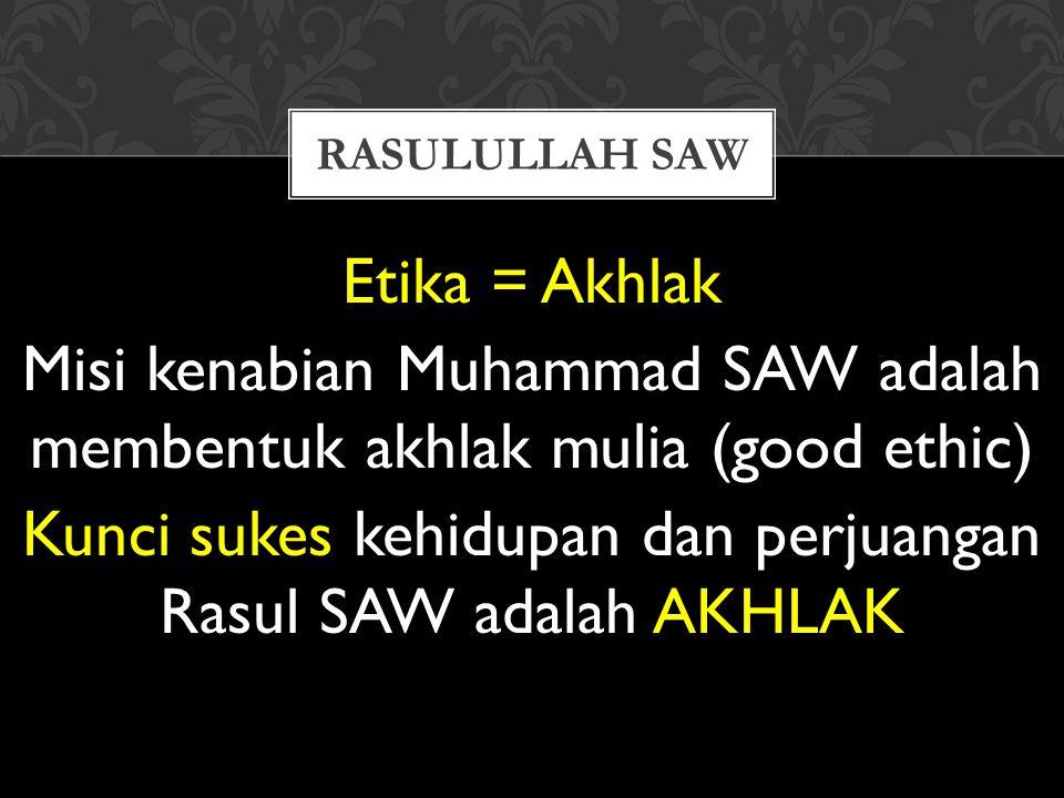 Rasulullah saw