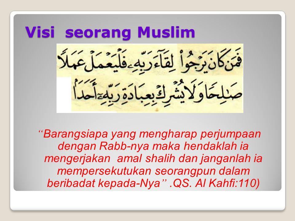 Visi seorang Muslim