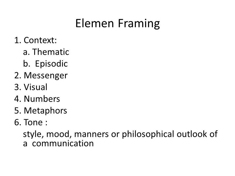 Elemen Framing