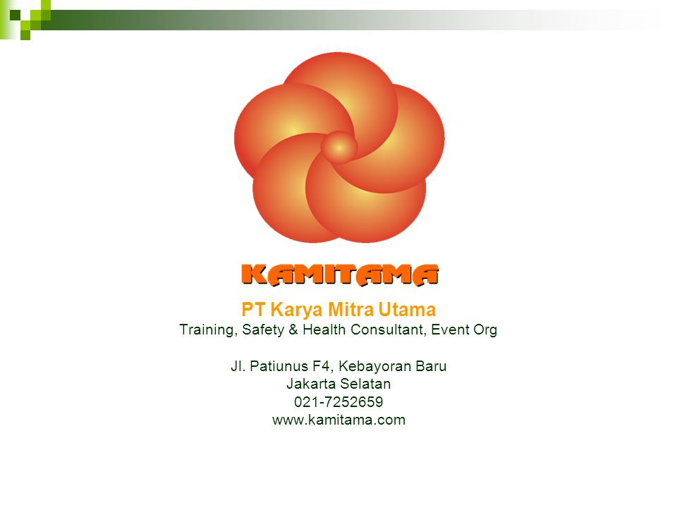 PT Karya Mitra Utama Training, Safety & Health Consultant, Event Org